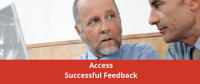 Access Successful Feedback